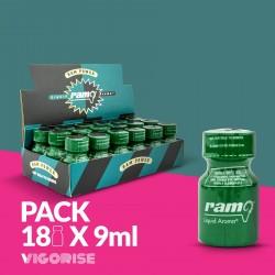 PACK COM 18 RAM PWD 9ML